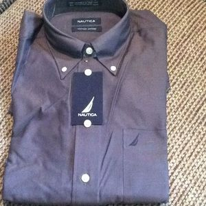 Super nice Men's long sleeve Nautical shirt NWT!